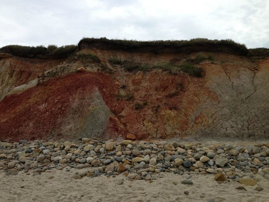 Duck Inn: The famous red sand dunes Aquinnah beach