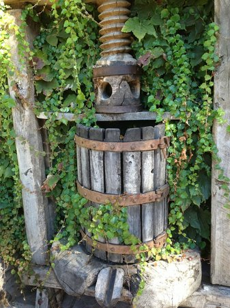 Old Wine Press at V. Sattui Winery