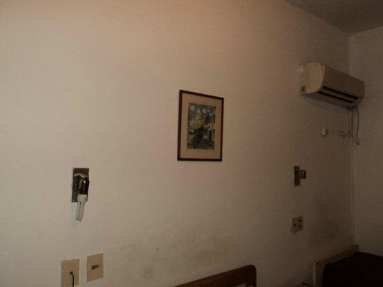 Hotel Arosa: Parede mofada