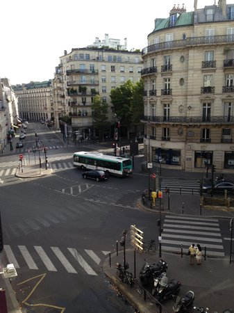 Hotel Bac Saint-Germain : View from our room