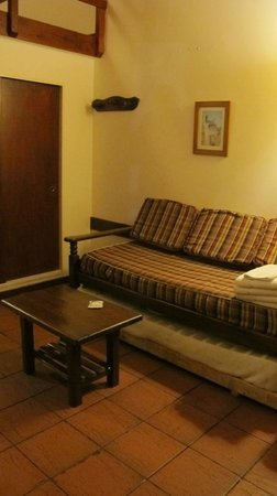Casa del Lago Resort: Living room