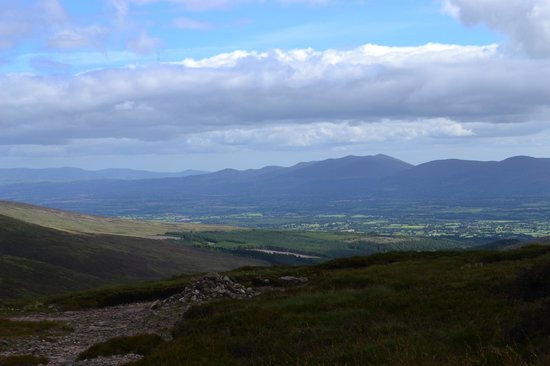 Kilcoran Lodge Hotel: View from Galtymore