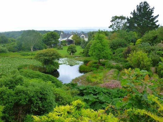 Glenwhan Gardens: Glenwhan Garden lake