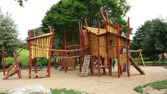 The New Play Park Picture Of Duthie Park Aberdeen