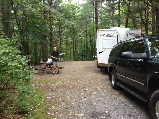 Adirondack Camping Village: Site #83, very nice