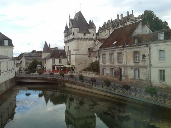 Pierre & Vacances Residence Le Moulin des Cordeliers: View out our window