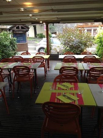 Mim's restaurant : terrasse