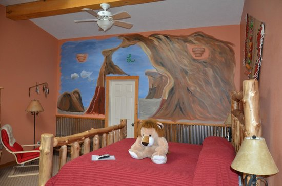 Escalante's Grand Staircase Bed & Breakfast Inn: Earth Room