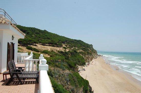 Hotel Mar de Frente: strand vanaf balkon