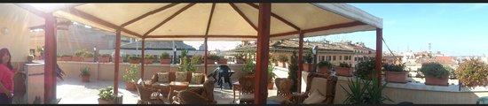 Hotel Impero: Terraza del Hotel