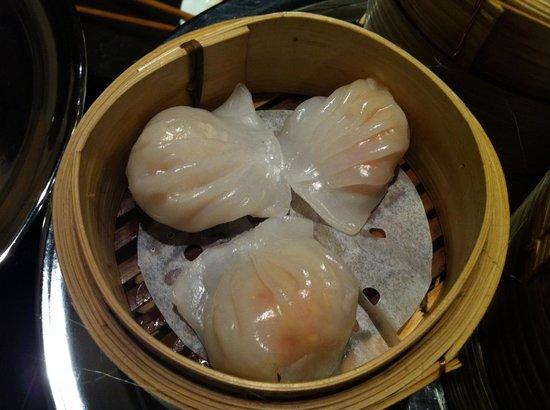 La Maison du Dim Sum : Raviolis aux crevettes HA KAO