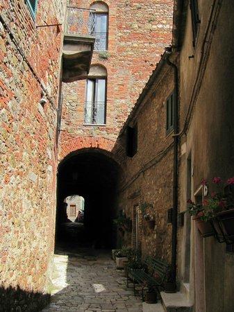 Centro Storico di Chiusdino: da qui, 800 ani fa si inerpicavano i cavalieri..
