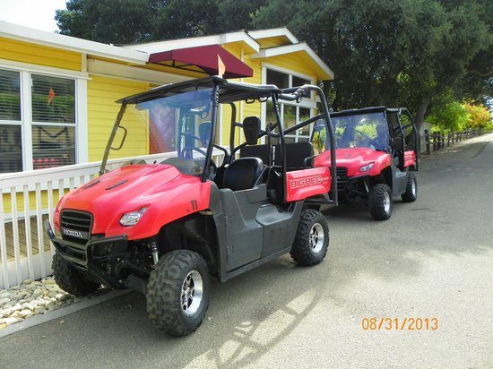 Hahn Estate Winery: Hahn Winery ATV's