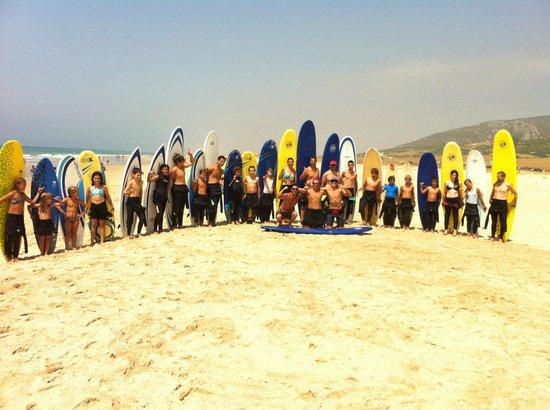 Zahara Surf: Grupo de surf clandestino 2013