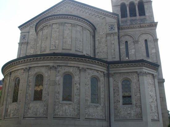 Liebfrauenkirche : Rear view of the church