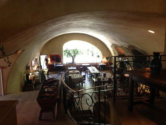 Moulin de Lourmarin: Sala ristorante