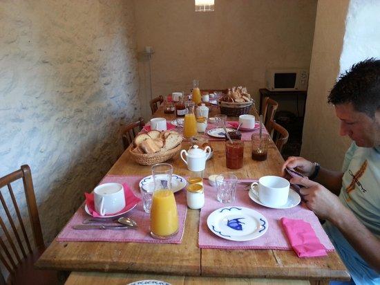 La Haute Flourie: desayuno