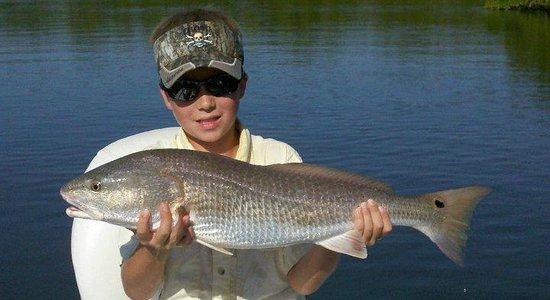"""Hook N Line Charters: 26"""" Redfish"""