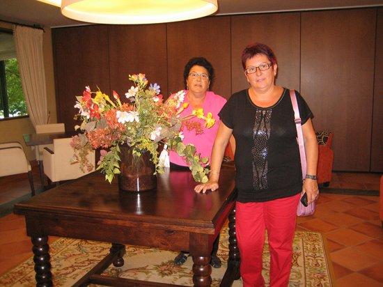 Hotel O Cabazo: en un salon del hotel