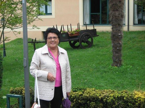Hotel O Cabazo: en el jardin