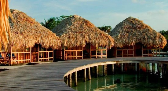 St. George's Caye Resort: Over-Water Cabanas