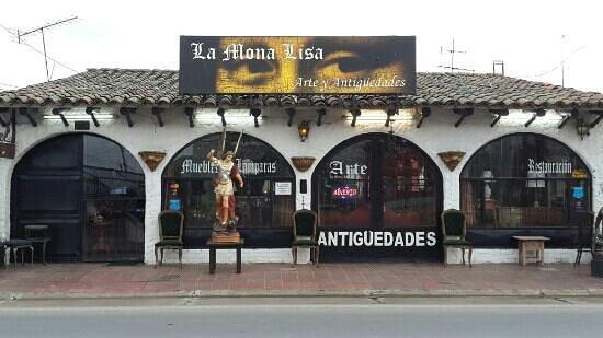 Chia, Colombia: Anticuario La Mona Lisa.