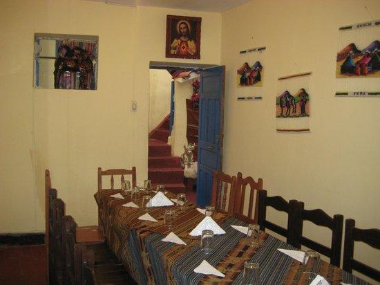 Casa La Samblena: comedor