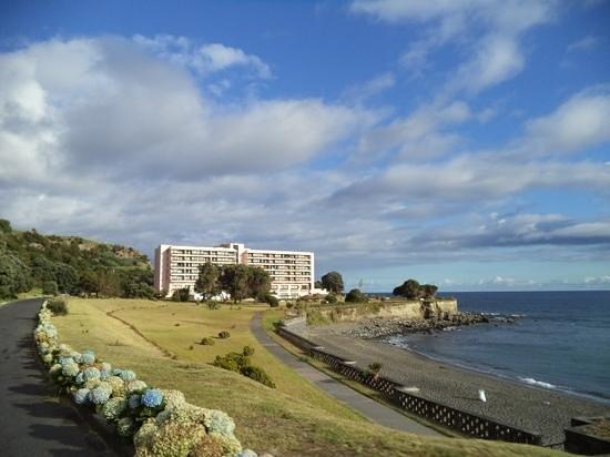 Pestana Bahia Praia: praia e hotel