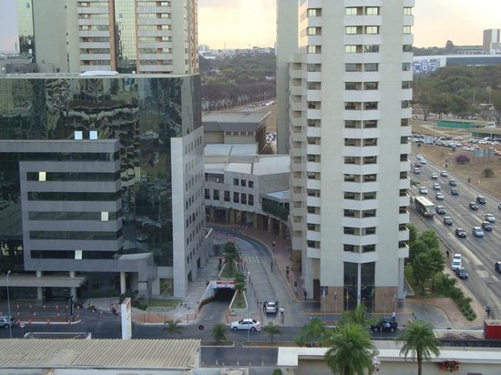 Grand Bittar Hotel : Vista do apartamento
