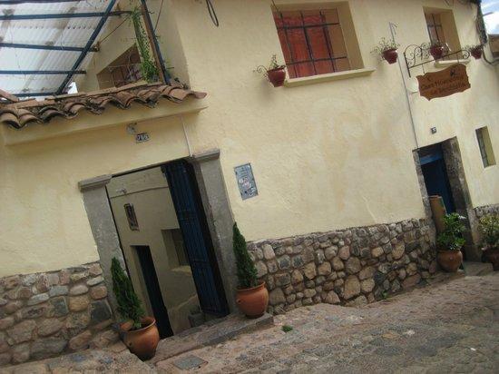 Casa La Samblena: facha frentera