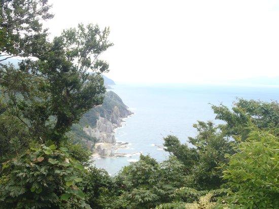 Sai-mura, Japan: 展望台から