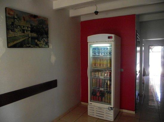 Pousada Alfa JK: Refrigerante,agua,cervejas e sucos