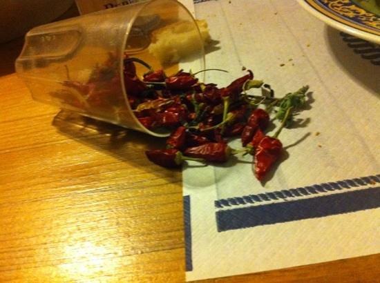Agriturismo Cavendo Tutus: peperoncini
