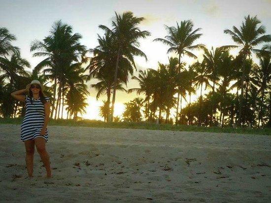Praia De Maracaipe: Por do sol em Maracaípe