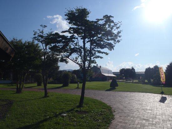 Michi-no-Eki Oirase Roman Park: 敷地内