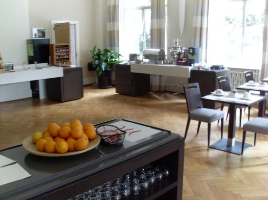 Grand Hotel Filippo: Frühstücksraum