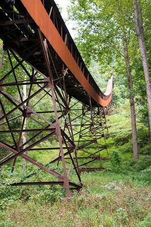 Conveyor Trail, Nuttallsburg area, New River Gorge Nat. River, WV