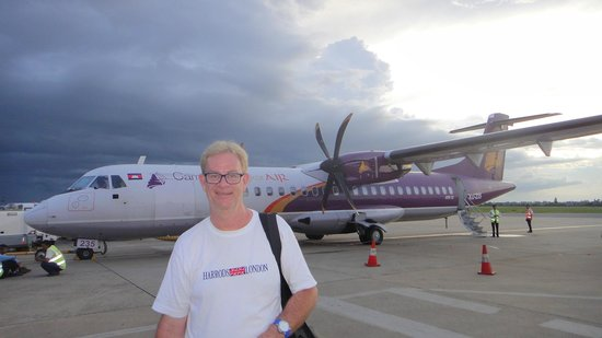 Rambutan Resort - Phnom Penh: flight between Siem Reap & Phnom Penh