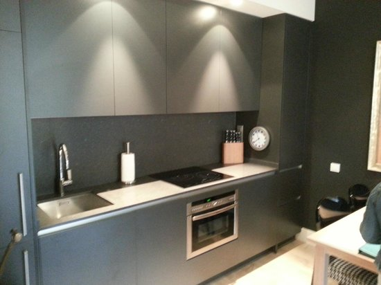 Angla Luxury Apartments Passeig de Gracia: Angla Boutique Apts Valencia - Kitchen