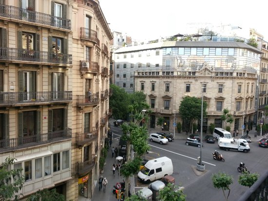 Angla Luxury Apartments Passeig de Gracia: Angla Boutique Apts Valencia - View from Balcony