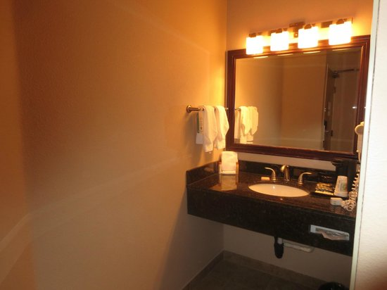 Monarch Hotel and Conference Center: Bathroom was clean