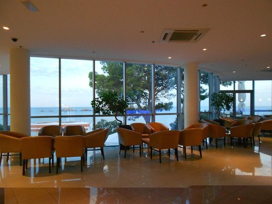 Importanne Resort Dubrovnik : La réception avec vue panoramique