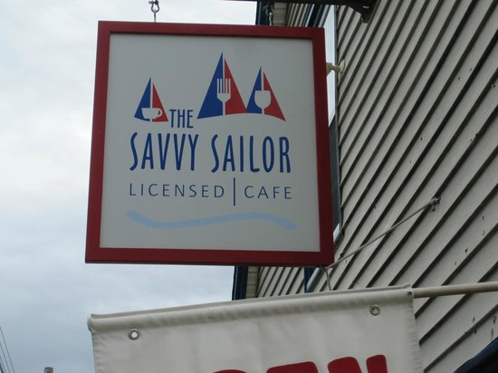 The Savvy Sailor: Savvy Sailor - the sign to look for