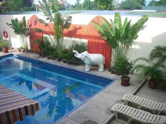 Geomania Apartelle Angeles City : Pool