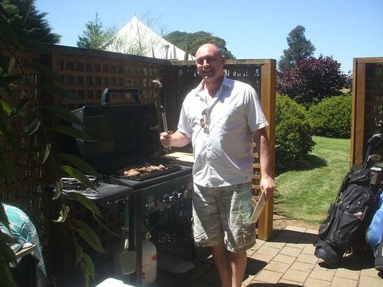 The River Lodge: BBQ Time