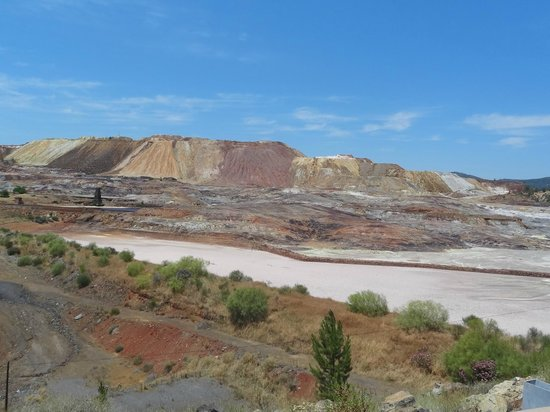 Minas de Riotinto, Ισπανία: Is this on Earth?