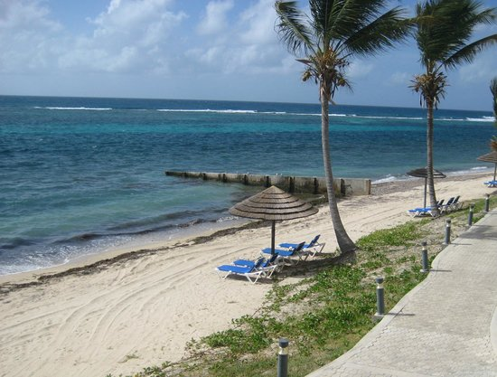 Divi Carina Bay All Inclusive Beach Resort: View from our room