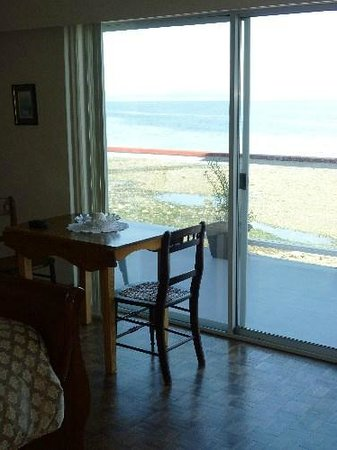 Copes' Islander Oceanfront B&B : View from Heron Room