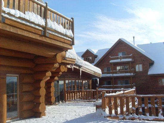 Hotel Sacacomie: vue partielle