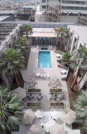 Holiday Inn Express Iquique: Vista jardin